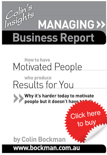 How to motivate people to product results