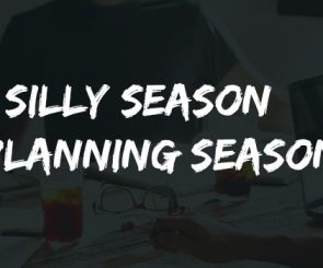 Impending Christmas 'Silly' Season OR Planning Season ??